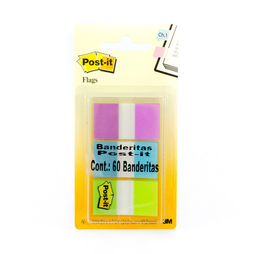 imagen-BANDERITAS AUTOADHERIBLES POST IT Mod. 680-PGB