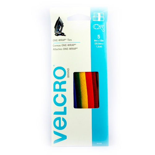 Velcro | CORREAS VELCRO ONE-WRAP MULTICOLOR | lumen.com.mx