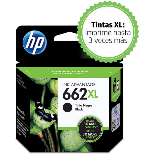 HP | CARTUCHO INKJET HP 662 | lumen.com.mx