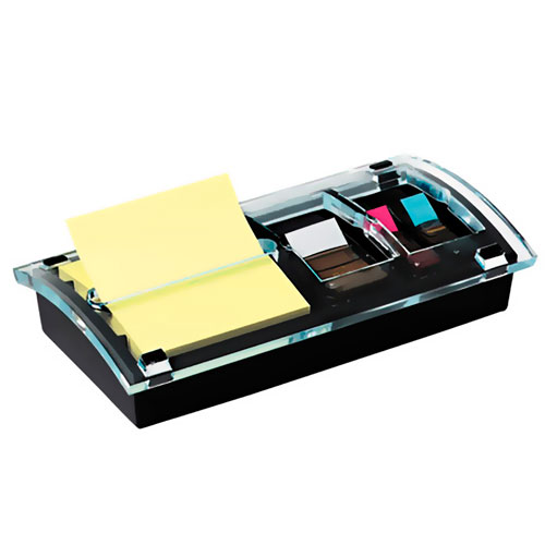 imagen-DESPACHADOR DE NOTAS POST-IT DS100 POP-UP NEGRO
