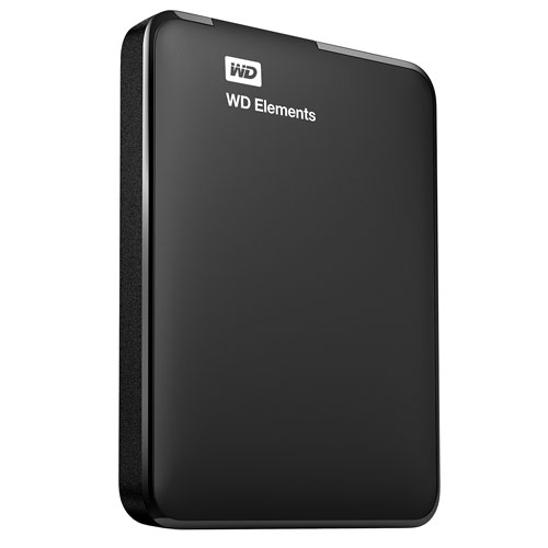 imagen-DISCO DURO WESTERN DIGITAL ELEMENTS PORTABLE 1TB USB 3.0