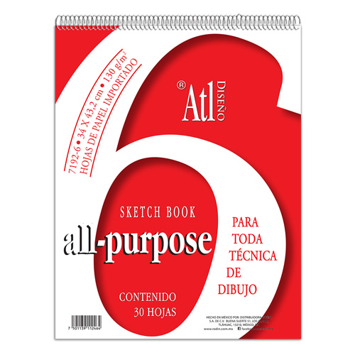 imagen-BLOCK ATL ALL PURPOSE 34.3X43.2 CM
