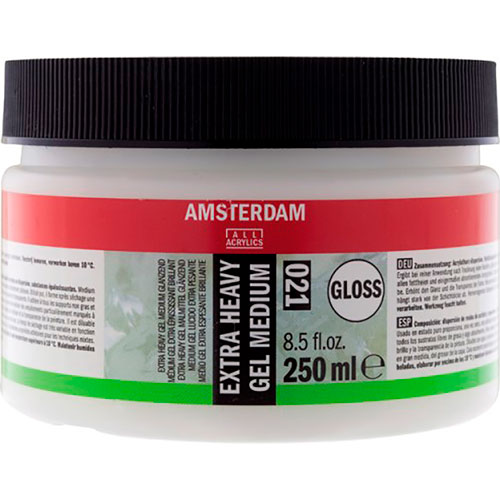 Royal Talens | MEDIO AMSTERDAM GEL EXTRAESPESANTE BRILLANTE 250 ML | lumen.com.mx