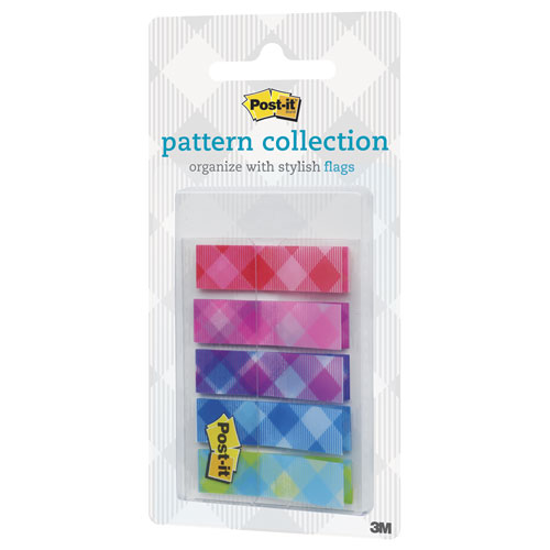 imagen-BANDERITAS AUTOADHERIBLES POST-IT 683-PLA 11X43MM C/100 PATRONES