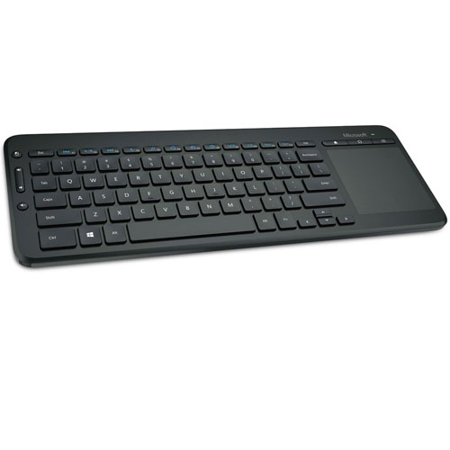 imagen-TECLADO MICROSOFT ALL IN ONE MEDIA INALÁMBRICO PARA PC