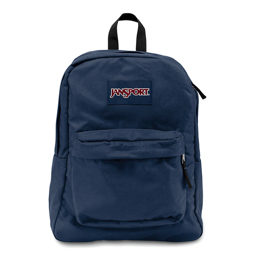 imagen-MOCHILA JANSPORT SUPER BREAK BLACK LABEL JS00T501003 NAVY