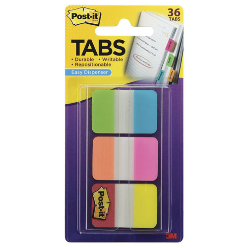 imagen-BANDERITAS AUTOADHERIBLES POST-IT SEPARADORES 254X381MM COL C/36