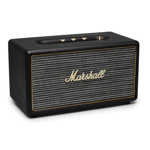 imagen-BOCINA MARSHALL STANMORE SPEAK BLUETOOTH NEGRO