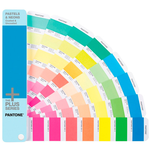 GUÍA PANTONE GG1504 PASTELS AND NEON