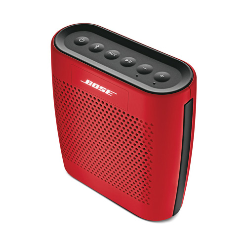 imagen-ALTAVOZ BOSE SOUNDLINK COLOR BLUETOOTH SPEAKER ROJO