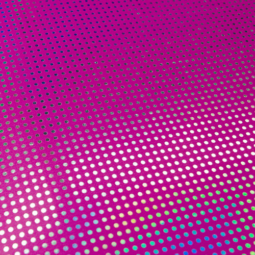 imagen-PAPEL FANTASIA HOLOGRAPHIC HOLO PINK