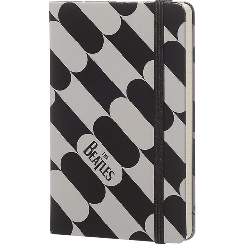 imagen-LIBRETA MOLESKINE THE BEATLES BLACK FISH RAYA