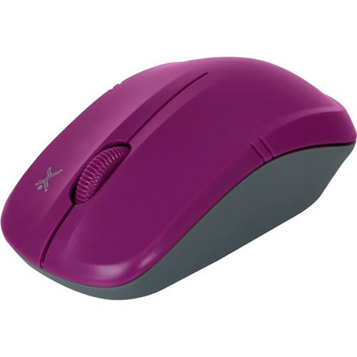 imagen-MAUSE INALÁMBRICO PERFECT CHOICE ESSENTIALS PC-044833 MORADO
