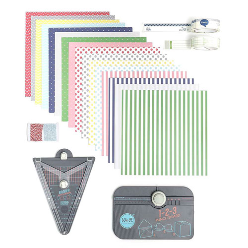 imagen-KIT WE R MEMORY KEEPERS 411013 PUNCH BOARD PACK