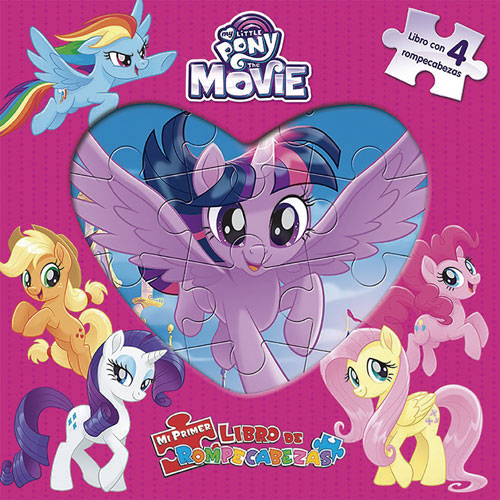 imagen-MI PRIMER LIBRO DE ROMPECABEZAS MY LITTLE PONY MOVIE