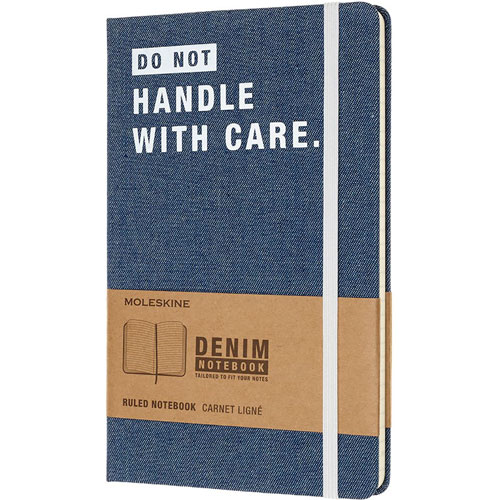 imagen-LIBRETA MOLESKINE LG DENIM DONT HANDLE RAYA