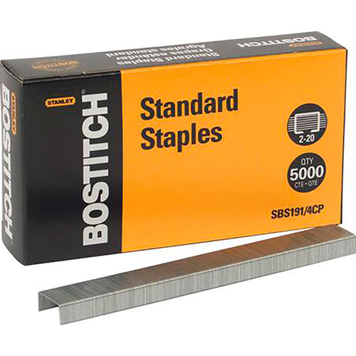 Bostitch | GRAPA ESTANDAR DE 6MM BOSTITCH CAJA CON 5000 | lumen.com.mx
