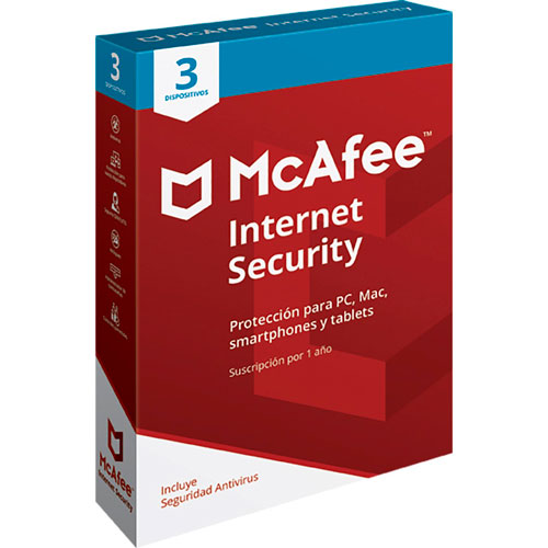 imagen-MCAFEE INTERNET SECURITY 3 DISPOSITIVOS