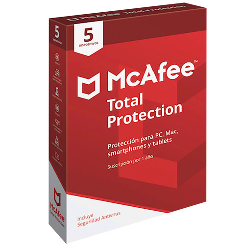 imagen-MCAFEE TOTAL PROTECTION 5 DISPOSITIVOS