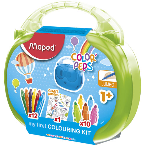 imagen-CRAYONES MAPED MY FIRST COLOURING KIT