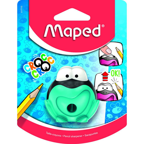 Maped | SACAPUNTAS MAPED 017710 CROC RANA | lumen.com.mx
