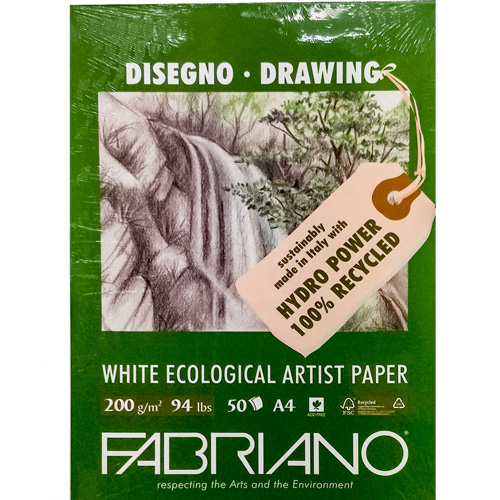 imagen-CUADERNO FABRIANO ARTISTS NATURAL 200G 21X29.7 CM 50 HOJAS