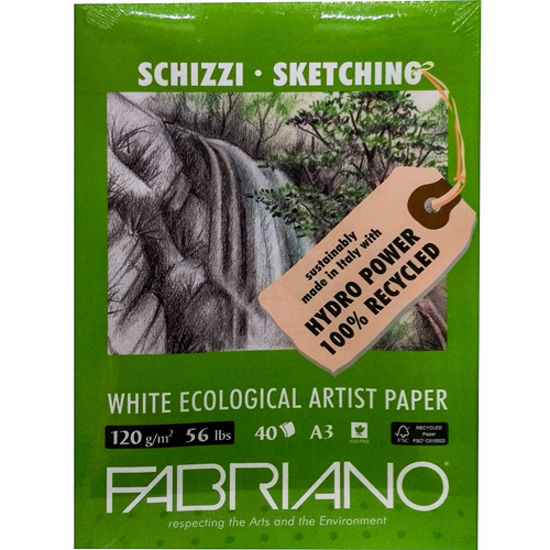 imagen-CUADERNO FABRIANO ARTISTS NATURAL 120G 29.7X42 CM 50 HOJAS