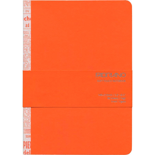 imagen-CUADERNO FABRIANO TOUCH 90G 14.8X21 CM RAYA 80 HOJAS