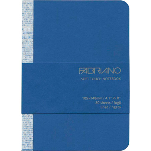 imagen-CUADERNO FABRIANO TOUCH 90G 10.5X14.8 CM RAYA 80 HOJAS