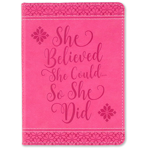 imagen-DIARIO TUMBILI SHE BELIEVED SHE COULD 13X18CM