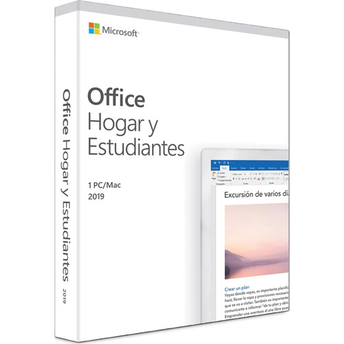 Microsoft | MICROSOFT OFFICE HOME AND STUDENT 2019 1 USUARIO PARA MAC Y WINDOWS | lumen.com.mx