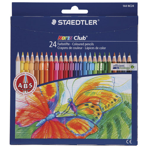 Foto de LÁPICES DE COLORES STAEDTLER NORIS CLUB CON 24