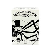 Winsor and Newton | TINTA CHINA WINSOR AND NEWTON 30 ML SIN GOTERO NEGRO(1) | lumen.com.mx
