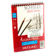imagen-BLOCK FABRIANO ACCADEMIA SKETCHING 120 G 14.8X21 CM