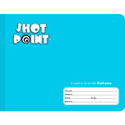 Shot Point | CUADERNO COSIDO FORMA ITALIANA SHOT POINT CUADRO GRANDE 100 HOJAS(2) | lumen.com.mx