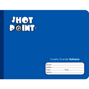 Shot Point | CUADERNO COSIDO FORMA ITALIANA SHOT POINT CUADRO GRANDE 100 HOJAS(3) | lumen.com.mx