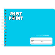 Shot Point | CUADERNO FORMA ITALIANA SHOT POINT CUADRO CHICO 100 HOJAS(2) | lumen.com.mx