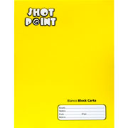 Shot Point | BLOCK SHOT POINT TAMAÑO CARTA BLANCO 80 HOJAS(2) | lumen.com.mx