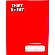 Shot Point | BLOCK SHOT POINT TAMAÑO CARTA BLANCO 80 HOJAS(1) | lumen.com.mx