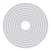 imagen-DADO SIZZIX 661560 CIRCLES DOTTED