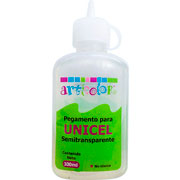 imagen-PEGAMENTO ARTICOLOR PARA UNICEL SEMITRANSPARENTE 100ML