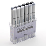 imagen-MARCADORES COPIC SKETCH SET COOL GREY CON 12