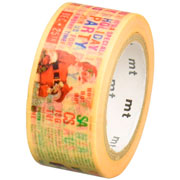 imagen-WASHI TAPE MT MTCMAS80Z CHRISTMAS NEWS 20MMX7M