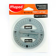 Maped | TRANSPORTADOR MAPED 1360-B DE 10 CM(1) | lumen.com.mx